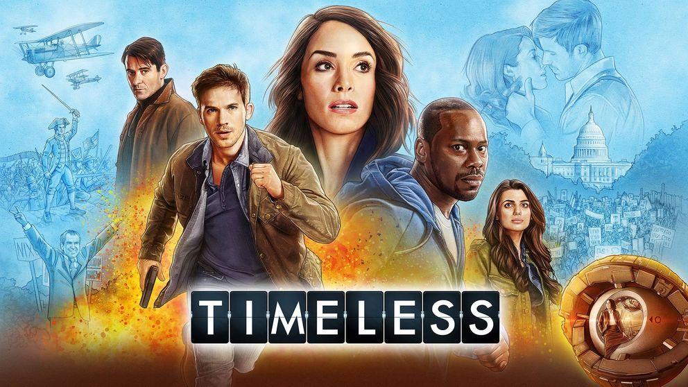 Movistar+ estrena la segunda temporada de 'Timeless'