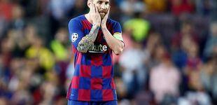 Post de Messi: