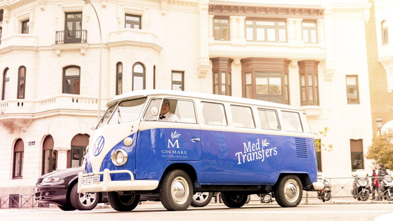 Una de las furgonetas que te llevará de coctelería en coctelería. (Foto: Cortesía)