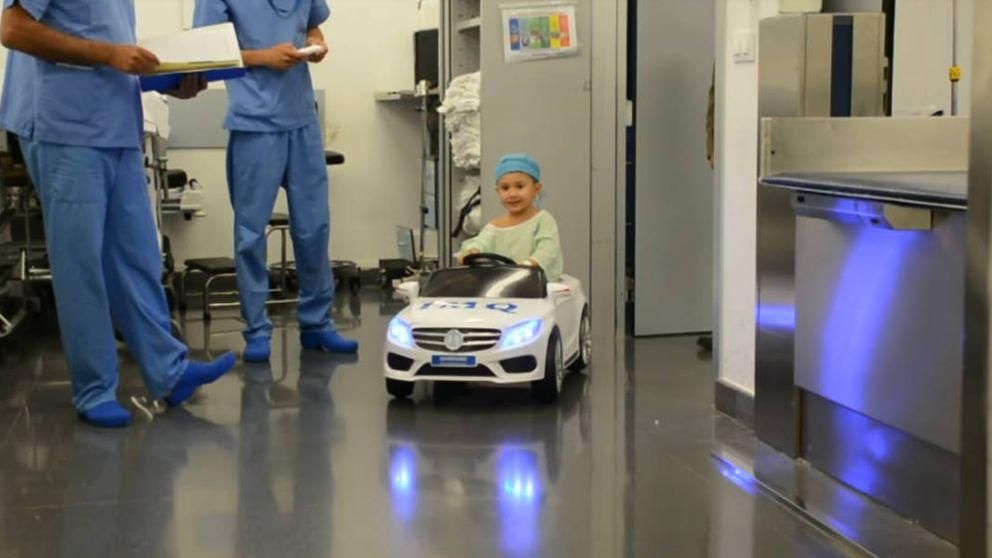 En coche al quirófano: la idea de un hospital para que los niños no se estresen