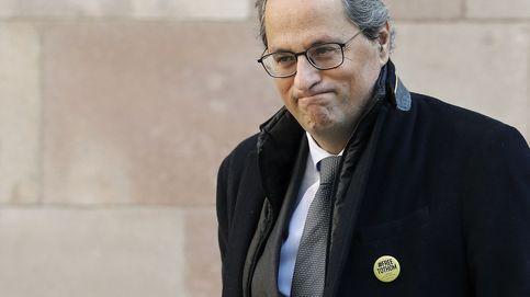 El TSJC inadmite la querella del PP contra Torra por seguir como 'president'
