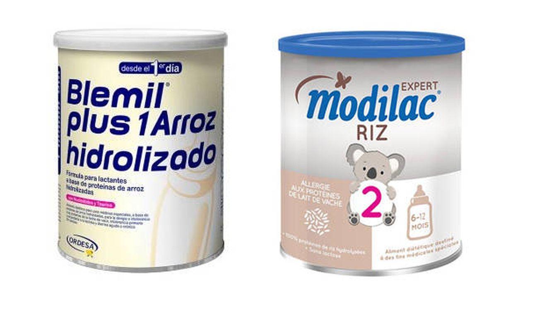 Sanidad pide no consumir alimentos infantiles de Modilac y Blemil por salmonella