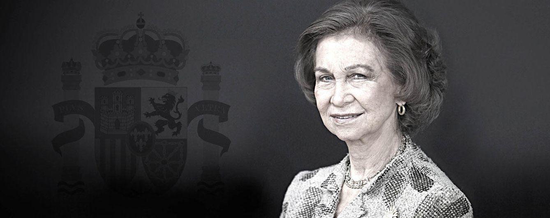Foto: La Reina Sofía en un montaje realizado por 'Vanitatis'