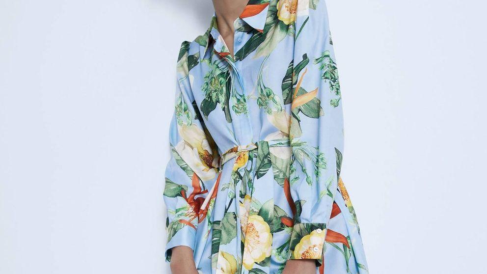 Este es el vestido camisero de Zara que agotarán chicas como tú antes de las rebajas