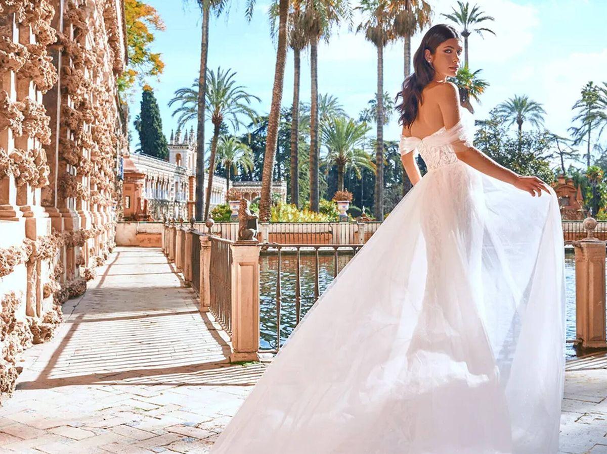 Foto: Vestido de novia de la nueva colección de Pronovias, 'EDEN'. (Cortesía)
