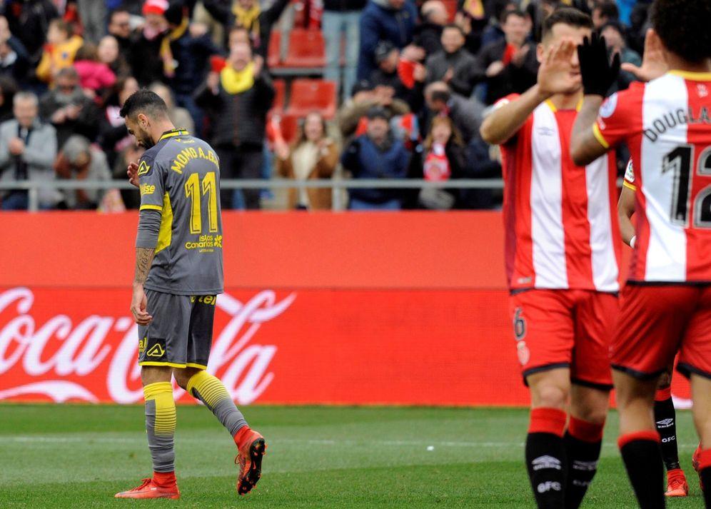 Foto: Imagen del Girona-Las Palmas. (EFE)