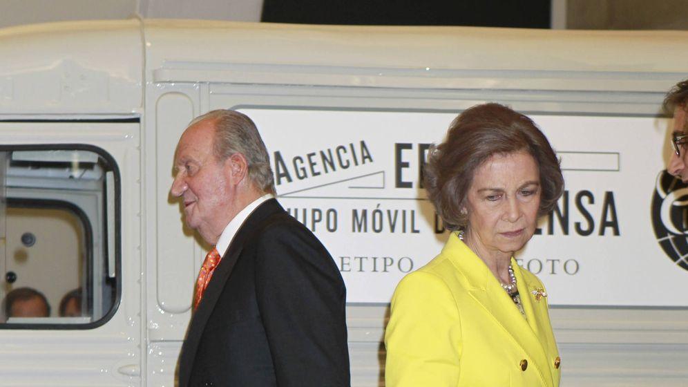 Foto: Don Juan Carlos y Doña Sofía: tan cerca, tan lejos. (Gtres)
