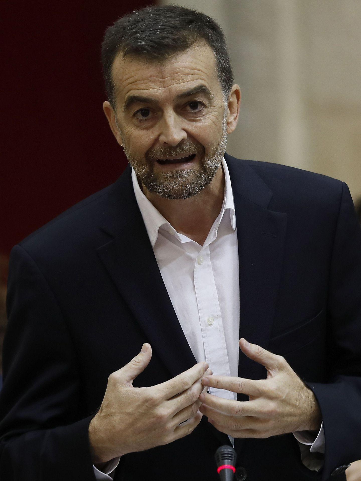 El coordinador andaluz de IU, Antonio Maíllo. (EFE)