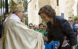 """El Rey rompe con la tradición y """"se escapa"""" de la foto de familia en Mallorca"""