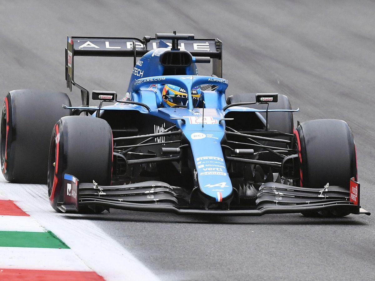 Foto: Fernando Alonso, en el GP de Italia. (Reuters)