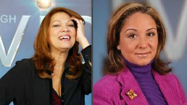 Ángela Carrasco y Lara Rodríguez. (Mediaset España)