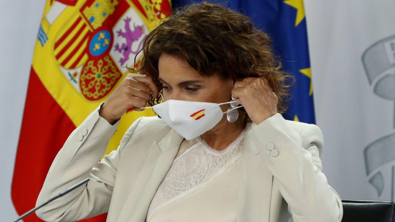 La ministra de Hacienda y portavoz del Gobierno, María Jesús Montero. (EFE)