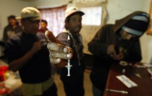 Vuelve la heroína: su consumo ha crecido un 74% en 20 años
