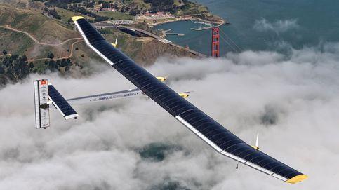 El primer avión solar que dará la vuelta al mundo sin combustible