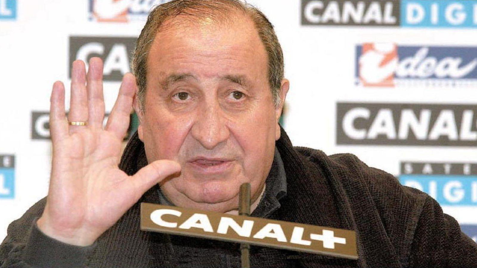 Foto: El expresidente del Atlético de Madrid, Jesús Gil