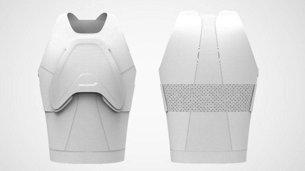 Foto: El protector invencible de McLaren. (McLaren Applied Technologies)