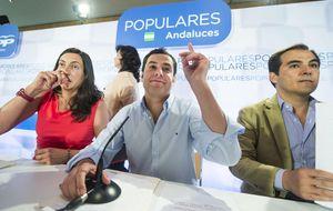 """El PP-A se vuelca en captar votos en la Andalucía """"profunda"""""""