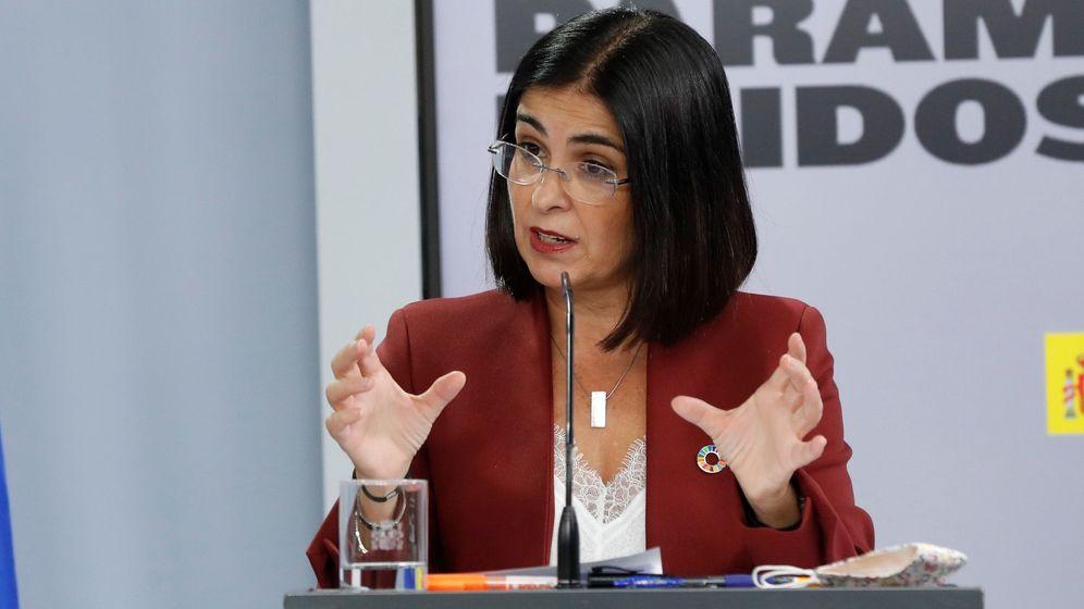 Foto: La ministra de Política Territorial, Carolina Darias (EFE)