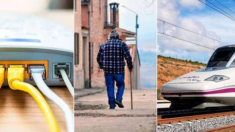 España vuelve a las recetas fallidas contra la despoblación: antes el AVE que internet