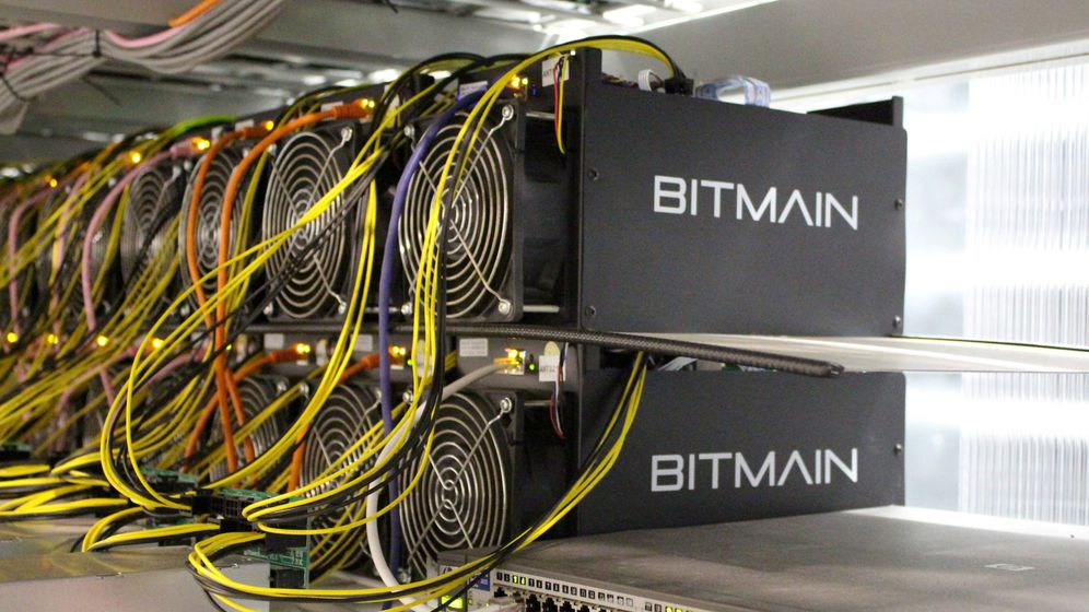 Foto: Uno de los grandes mineros de bitcoins localizado en Islandia. (Reuters)