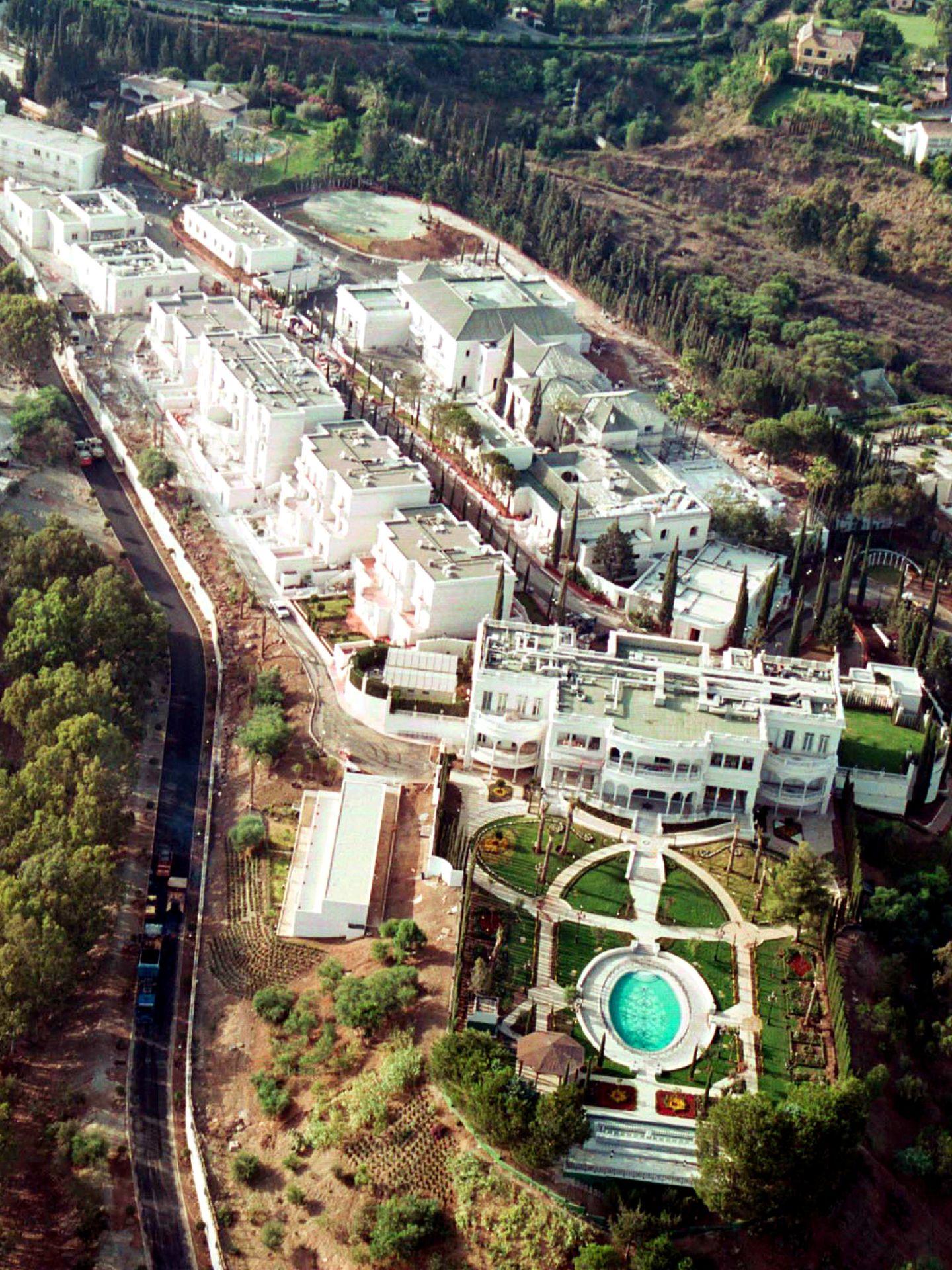 Plano general del palacio del rey Fahd en Marbella (Gtres)