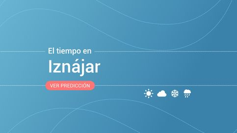 El tiempo en Iznájar: previsión meteorológica de hoy, lunes 4 de noviembre