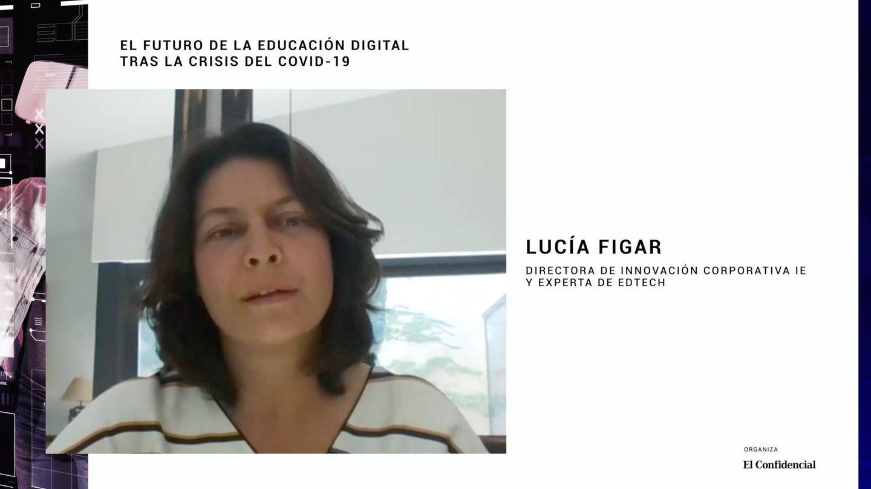 Lucía Figar, directora de Innovación corporativa de IE University y experta en 'edtech'.