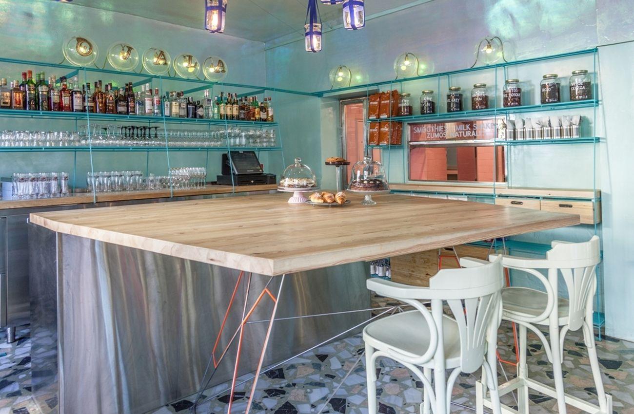 Foto: Ojalá, restaurante con vocación playera en el barrio de Malasaña de Madrid
