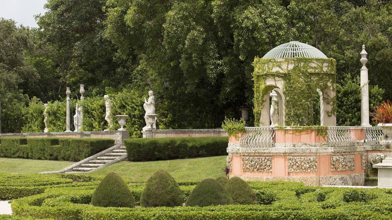 Así son los Jardines Vizcaya.