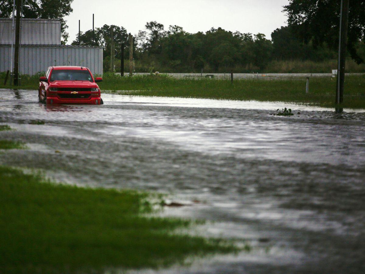 Foto: Luara a su paso por Louisiana. (Reuters)