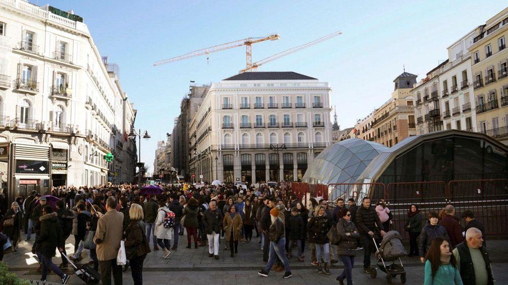 Foto: Puerta del Sol en Madrid. (EFE)