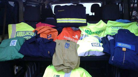 La Policía Municipal destapa en Vallecas una trama de venta de uniformes oficiales