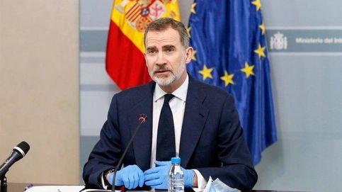El rey homenajea a las víctimas de la pandemia del coronavirus