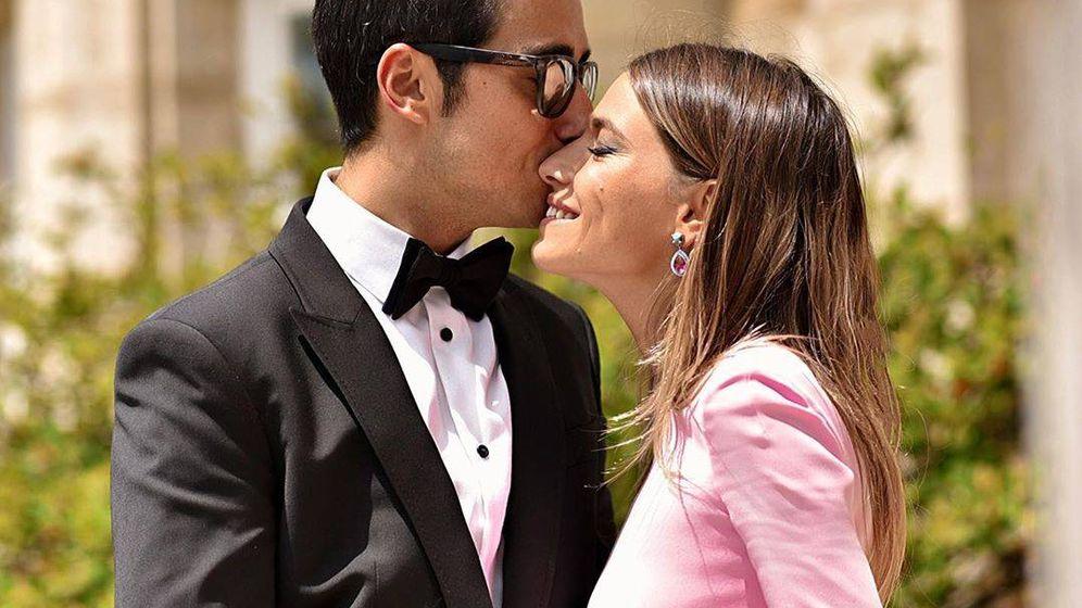 Foto: Flora González y su novio. (Redes)
