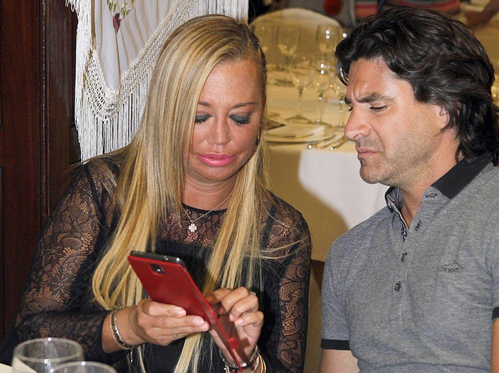Foto: Belén Esteban y Toño Sanchís. (Gtres)