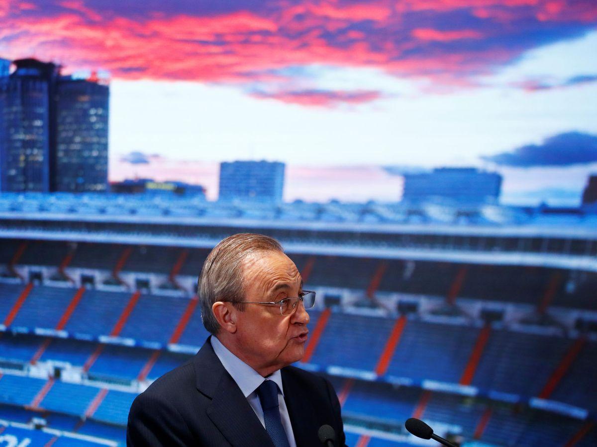 Foto: Florentino Pérez, durante un acto en julio de 2019. (Reuters)