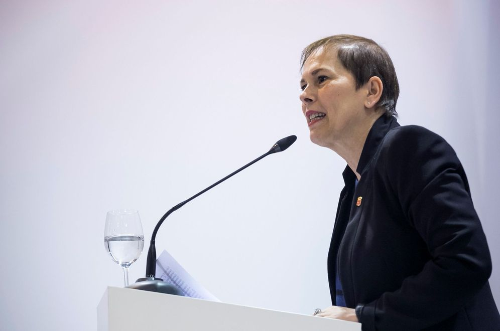 Foto: La presidenta de Navarra, Uxue Barkos. (EFE)