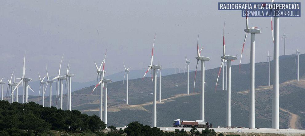Foto: Molinos de viento en Tánger. (Reuters)