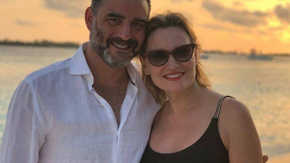 Foto: Ainhoa Arteta y Matías Urrea en Maldivas. (IG)