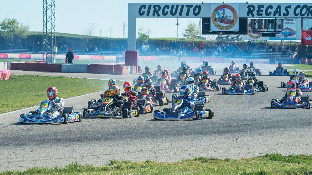 Foto: Una competición de karts en el circuito de Recas (RFEA)