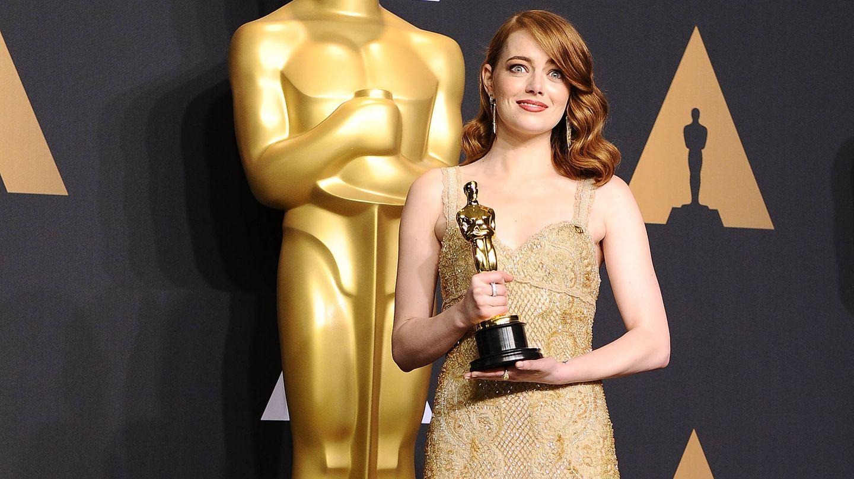 La actriz, en la noche de los Oscar de 2017. (Getty)