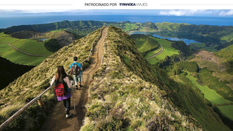 San Miguel, la isla de las Azores con aguas termales y lagos multicolor
