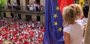 Post de  La alcaldesa socialista de Viana permite a Bildu colgar la ikurriña durante el chupinazo