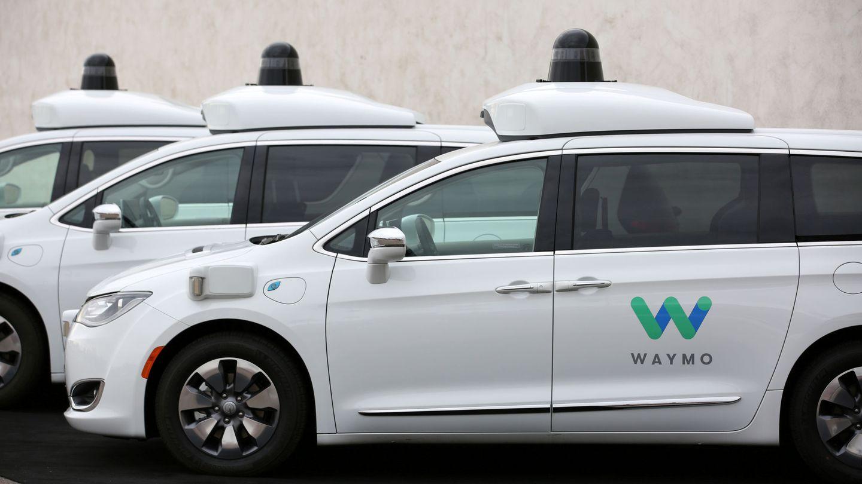 Los coches autónomos de Waymo. (Google)