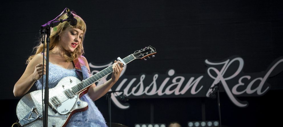 Foto: Russian Red, icono hipster. (Efe)