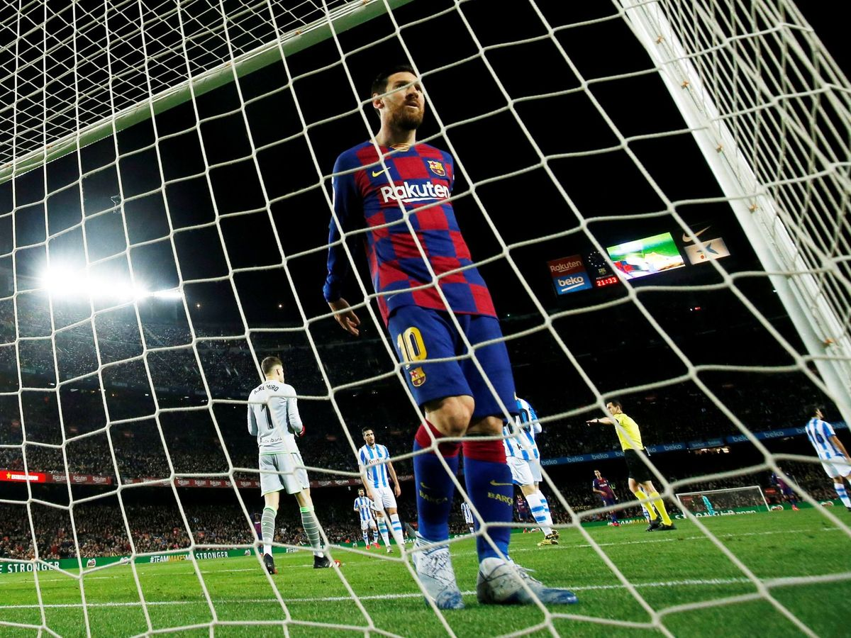Foto: Messi este fin de semana. (Reuters)