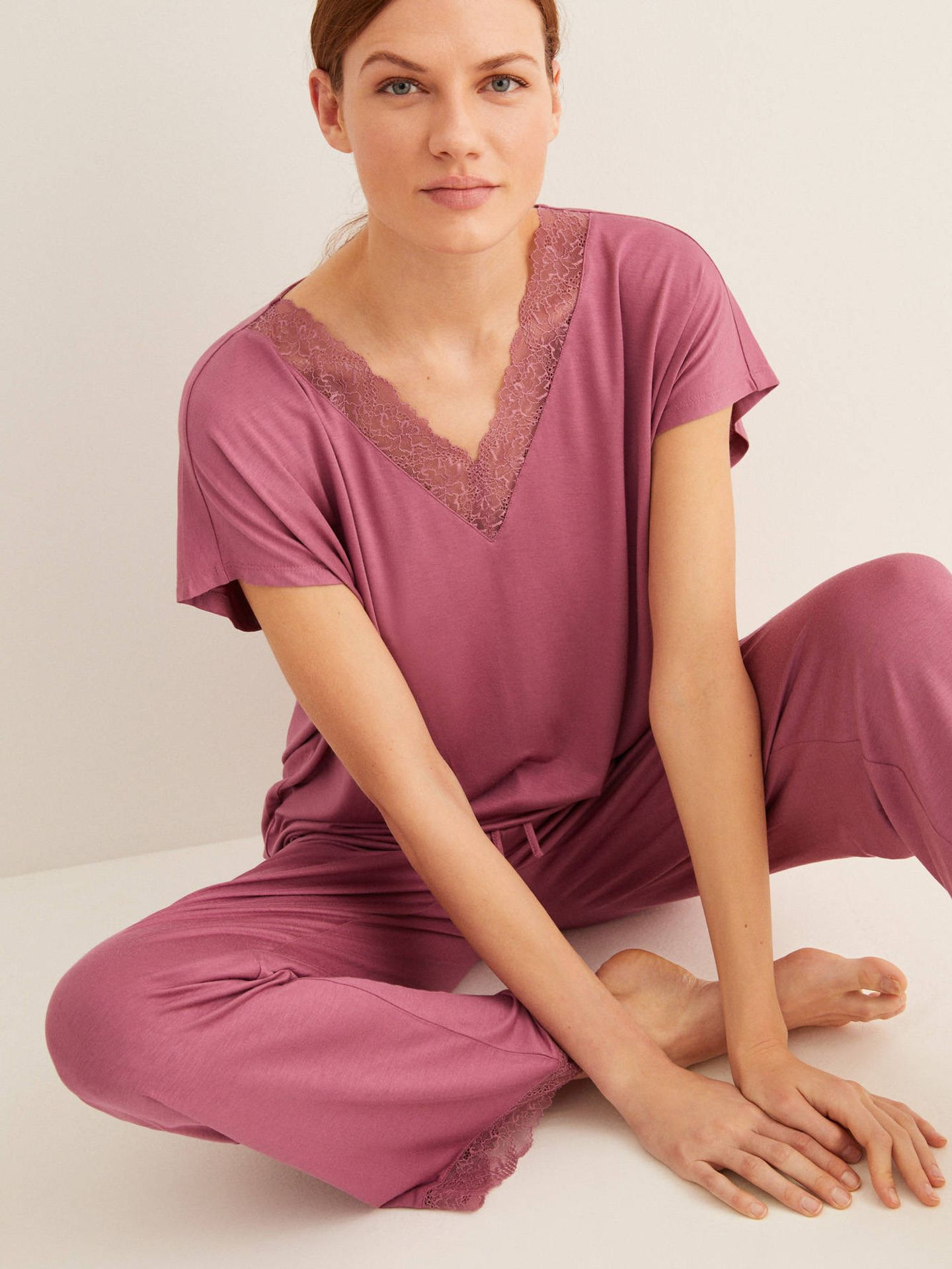 Este pijama de Women'secret cuesta 24 euros (Cortesía)