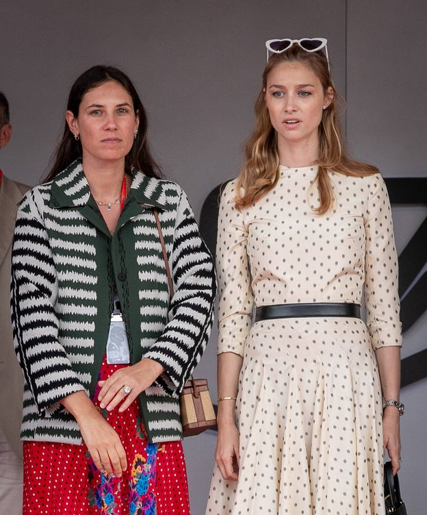 Foto: Tatiana Santo Domingo y Beatrice Borromeo. (Getty)