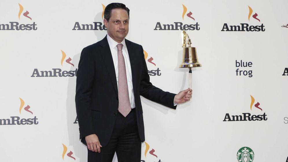 Foto: El presidente de Amrest, Jose Pares (Foto corporativa)