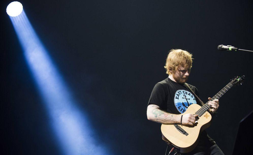 Foto: Ed Sheeran en concierto. (Foto: Gtres)